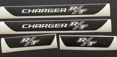 R-T Dodge Charger Vinyl Door Sill Decals 2006 2007 2008 2009 2010