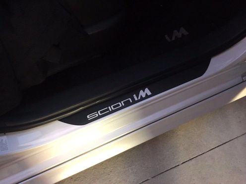 Scion iM Door Sill Decals JDM VIP  SCION STYLE