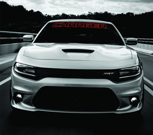 Dodge Charger Windshield Banner Decal 2011-2017 HEMI RT SXT Ralleye v6 v8