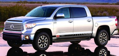Decal Vinyl Fits TUNDRA SR5 Parts - Crewmax 2007 2008 2009 2010 2011 to 2015