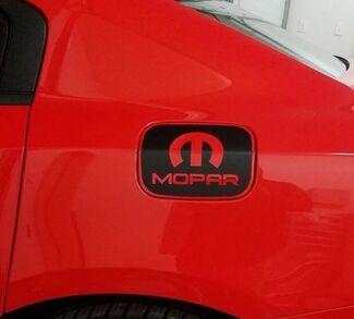 Dodge Charger MOPAR Gastür Vinyl Overlay 2011+ Hemi Decal Aufkleber 2015+