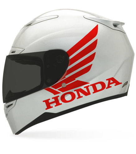 2 Honda Matte sticker for helmet decal motorcycle parts dot shoel arai bell