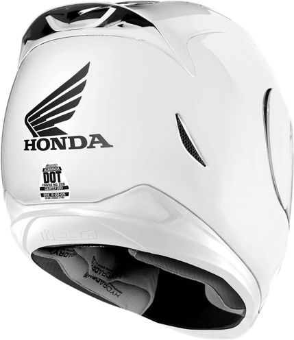 3 Honda moto sticker for helmet decal motorcycle parts dot shoel arai bell