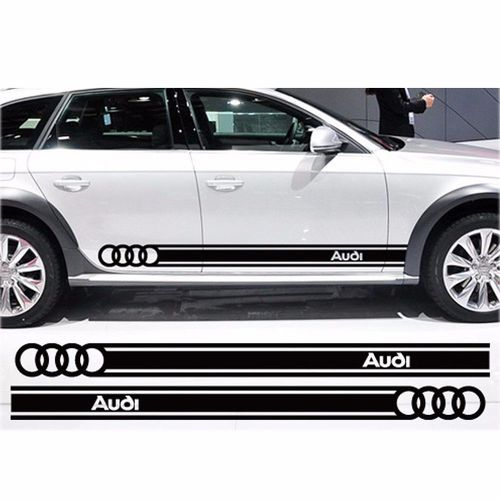 Beltline body Decals car stickers personalized decoration for Audi logo