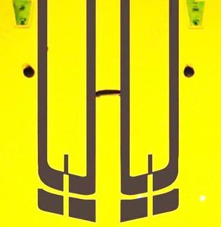Jeep Wrangler Streifen Vinyl Hood Aufkleber TJ LJ JK JKU
