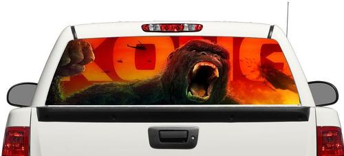 King Kong Movie Rear Window Decal Sticker Pick-up Truck SUV Car