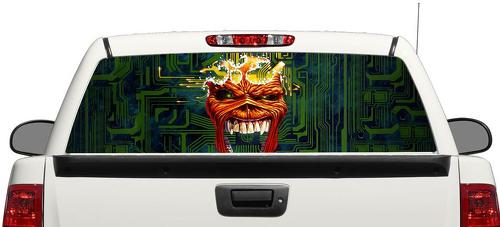 Iron Maiden Eddie Rear Window Decal Sticker Pick-up Truck SUV Car 1