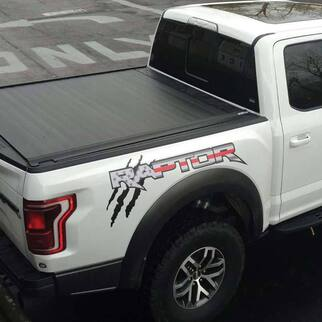 Ford F-150 Raptor 2017 USA flag logo side bed graphics decal sticker 2