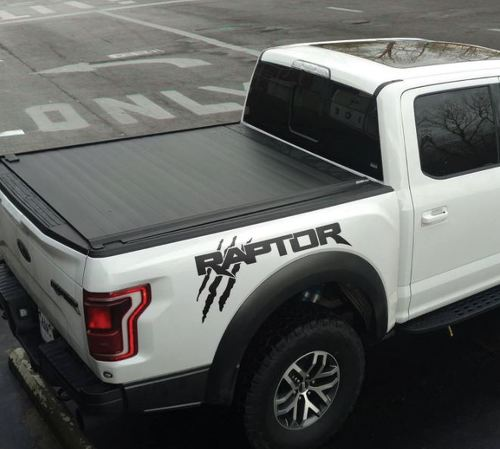 Ford F150 Raptor 2017 logo side bed graphics decal sticker