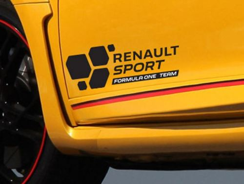 Renault Sport Formula One Team F1 2016 sticker decal autocollante Clio Megane