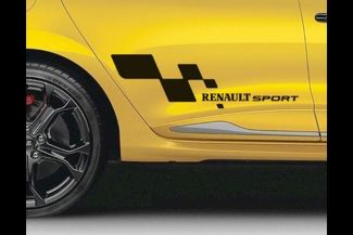RENAULT Sport Flag stickers for Clio Megane