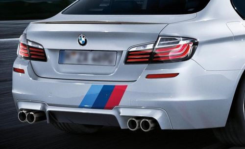 BMW M Kleur Strepen Rally Back Trunk Racing Motorsport Vinyl Decal Sticker