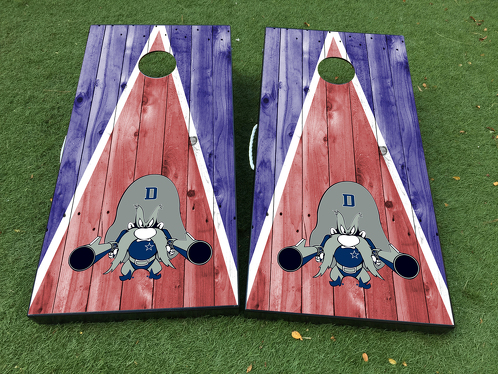 Dallas Cowboys 2 Cornhole Board Game Decal VINYL WRAPS with LAMINATED