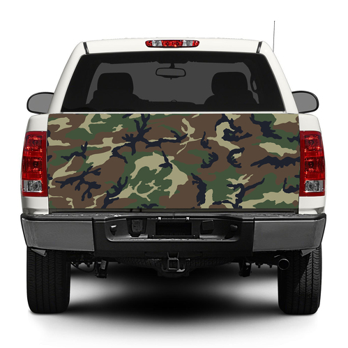 Camouflage Camo Military Tailgate Decal Sticker Wrap Pick-up Truck SUV Car