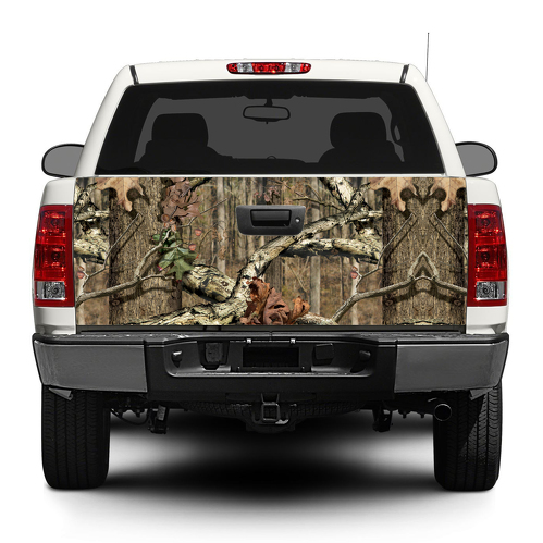 Camouflage Camo forest  Tailgate Decal Sticker Wrap Pick-up Truck SUV Car