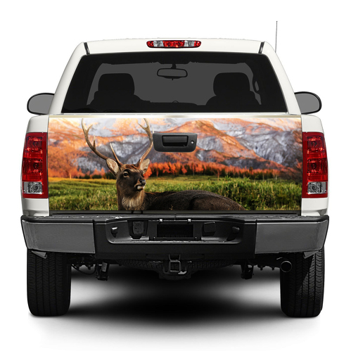 Deer Animal Nature Tailgate Decal Sticker Wrap Pick-up Truck SUV Car