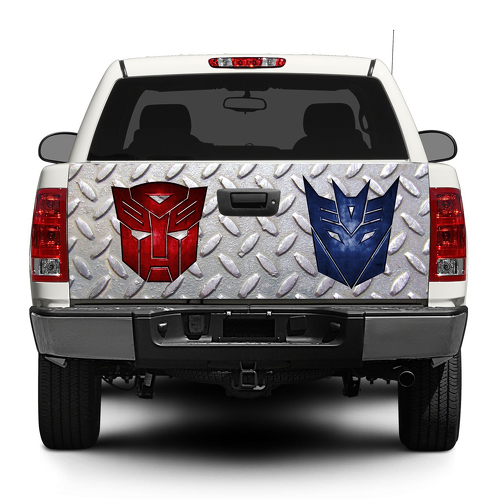 Transformer logo Autobot Decepticon Tailgate Decal Sticker Wrap Pick-up Truck SUV Car