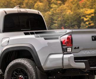 Toyota Tacoma TRD Seitenbett Grafik Aufkleber Aufkleber Modell 4