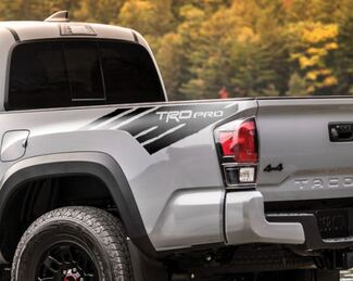 Toyota Tacoma TRD side bed graphics decal sticker model 5