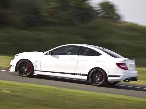 Mercedes Benz C63 Coupe AMG 507 Edition Replika Seitenstreifen Aufkleber
