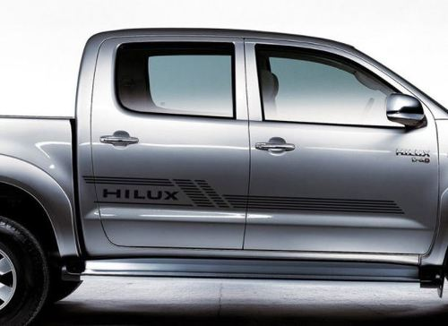 Toyota HILUX Graphics side decal stripe decal model 1
