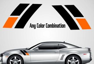 2010 2011 2012 2013 2014  - 2020 45th Anniversary Chevy Camaro Fender Stripes Decal SS