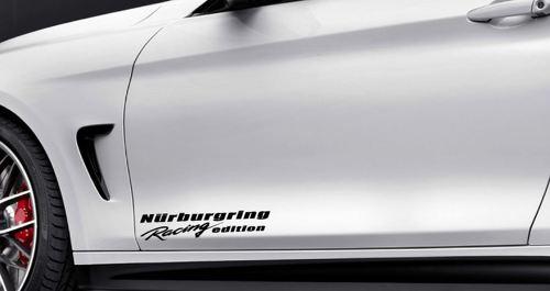 Nurburgring Racing Edition Vinyl Decal Sport Deur Sticker Fits BMW Decal Black