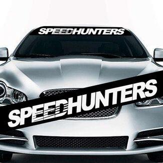 1PC The JDM SpeedHunters Sun Visor Windshield Hellaflush Vinyl Car Sticker Decal