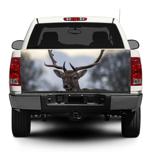 Deer Animal Tailgate Decal Sticker Wrap Pick-up Truck SUV Car