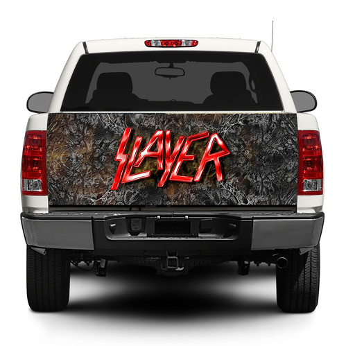 Slayer trash metal Tailgate Decal Sticker Wrap Pick-up Truck SUV Car