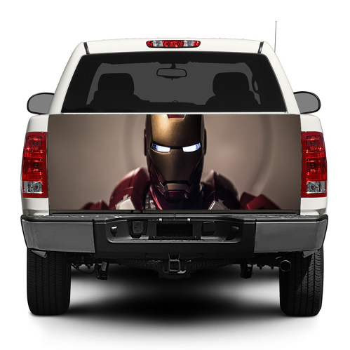 Iron Man Marvel Tony Stark  Tailgate Decal Sticker Wrap Pick-up Truck SUV Car