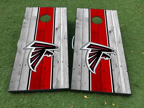 Atlanta Falcons Football Cornhole Brettspiel Aufkleber VINYL WRAPS mit LAMINATED