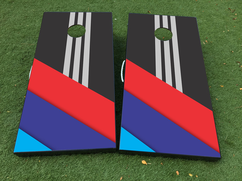 BMW M Power Pergormance Cornhole Board Game Decal VINYL WRAPS with LAMINATED