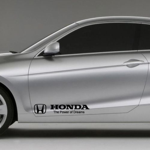 Category Honda Decals Stickers - Honda accord decals stickers