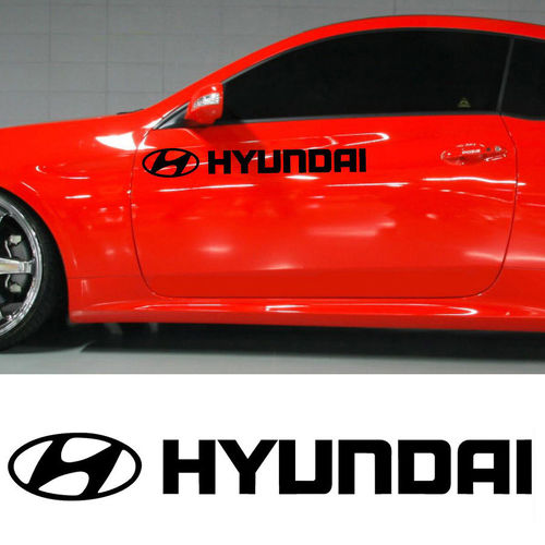 HYUNDAI MOTOR SPORTS DECAL STICKER