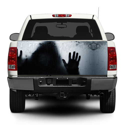 Shadow Man Danger Tailgate Decal Sticker Wrap Pick-up Truck SUV Car