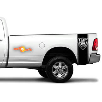 Zombie Hand ZORT Outbreak Truck Bed side Decal Stickers fits to Dodge Ram Chevy Ford F150 Toyota