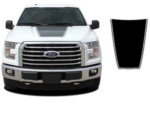 2015-2017 Ford F-150 Force Hood Solid Color Decals Stripes Vinyl Graphics