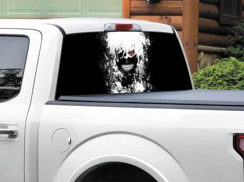Anime Tokyo Ghoul Heckscheibe Aufkleber Aufkleber Pick-up Truck SUV Auto jeder Größe