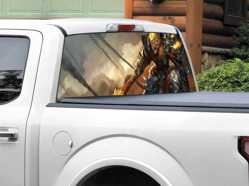 League Of Legends Wukong Rear Window Decal Sticker Pick-up Truck SUV Car any size