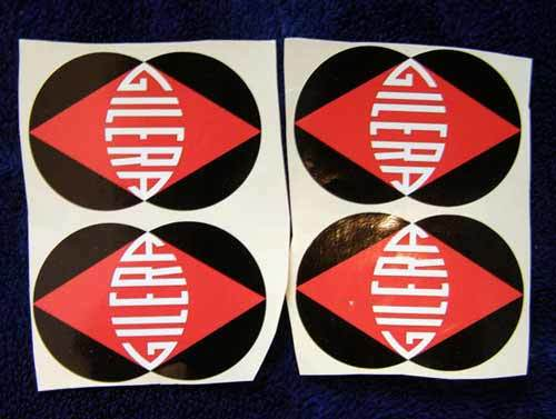 Gilera 4x decals stickers