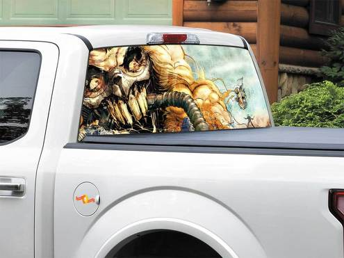 Mad Max Fury Road Immortan Joe Rear Window Decal Sticker Pick-up Truck SUV Car any size