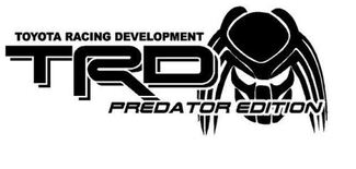2 - Truck Car Decal - TRD Predator Decal - Vinyl decal Outdoor vinyl
