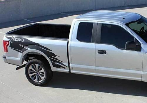 Ford F150 Decals splash side Stripe Vinyl Graphics kit fits models 2015-2018
