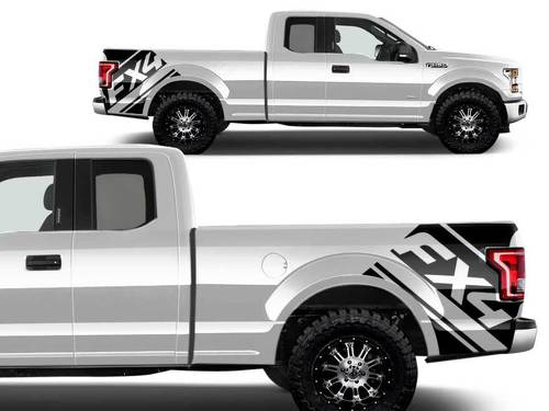 Ford F-150 BedFX4 Graphic decals stickers fits models 2015-2017