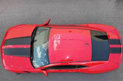 Chevrolet Camaro Hood und Trunk Stripes Grafik Aufkleber Aufkleber passt Modelle 2010-2013