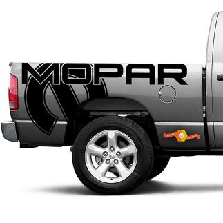 Dodge Ram Truck 1500/2500 MOPAR side Graphic vinyl decals stickers fits models 2002-2020