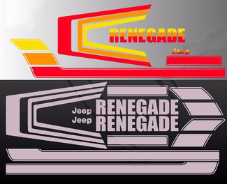 1976  - 1984 Jeep Renegade CJ5 CJ7 Decals graphics