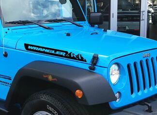 Jeep Renegade Hood Seitenstreifen Hood Mountains Aufkleber Vinyl Grafik JK Fender