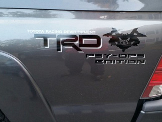 Toyota Racing Development TRD PSY-OPS 4X4 bed side Graphic decals stickers